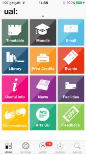UAL App Update